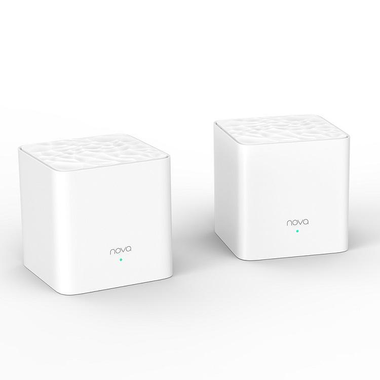 Wifi Mesh Tend Nova MW3 phủ sóng 200 mét vuông (2 bộ) sử dụng được lên tới 40 users- tặng 2 bình nhựa đựng nước cao cấp
