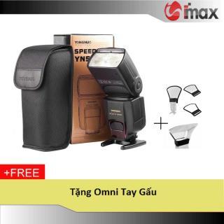 Đèn Flash Yongnuo YN565EX for Nikon + Omni tay gấu thumbnail