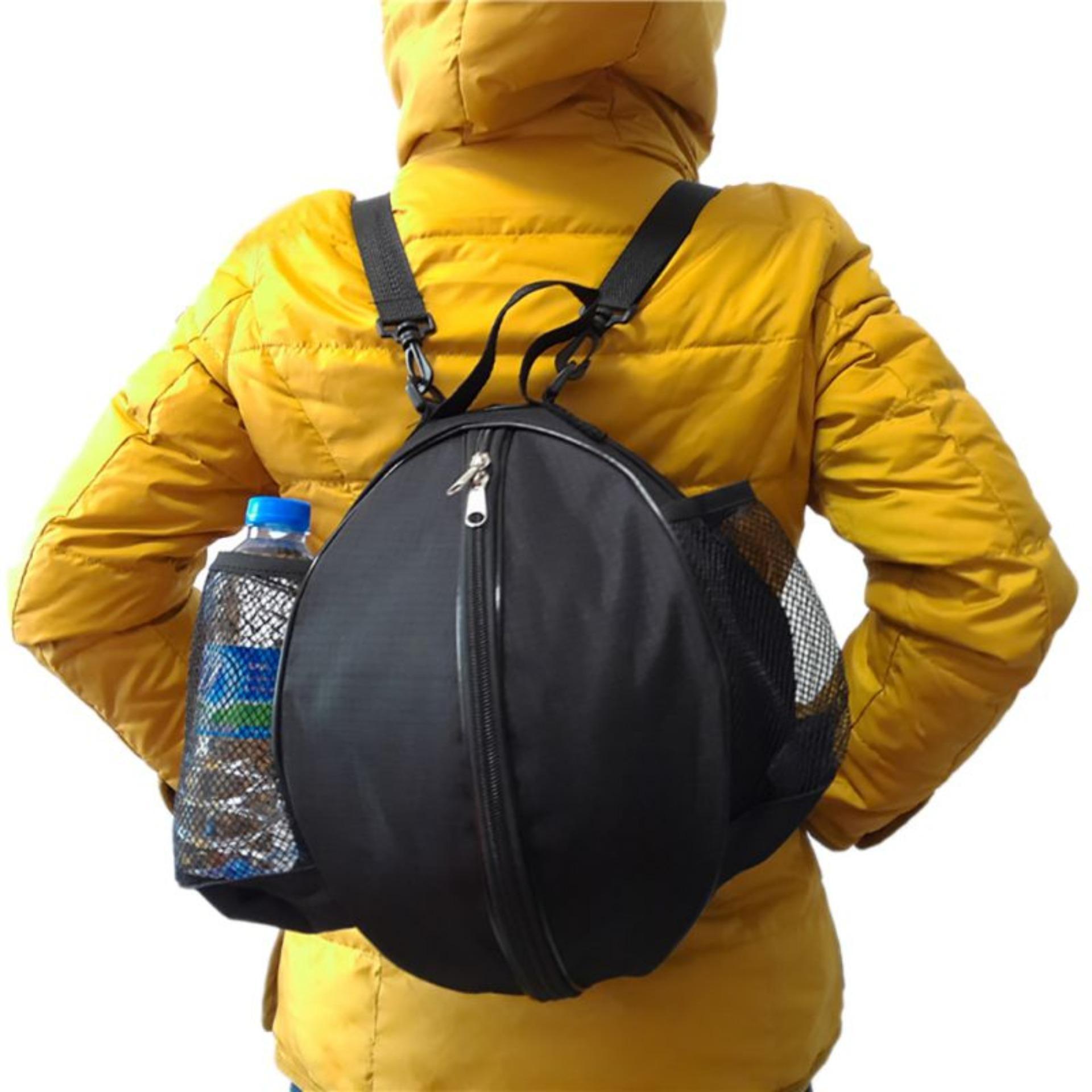 Túi đựng bóng rổ, có ngăn đựng bình nước, ngăn nhỏ đựng phụ kiện chất liệu cao cấp POPO Sports - 2