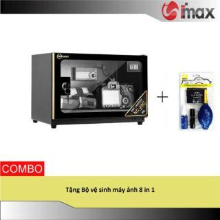 Tủ chống ẩm Nikatei NC-20 GOLD (20 lít) + Bộ vệ sinh máy ảnh 8 in 1 thumbnail