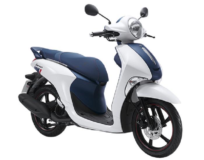 Yamaha Janus Limited 125cc ( Trắng Xanh ) 2018