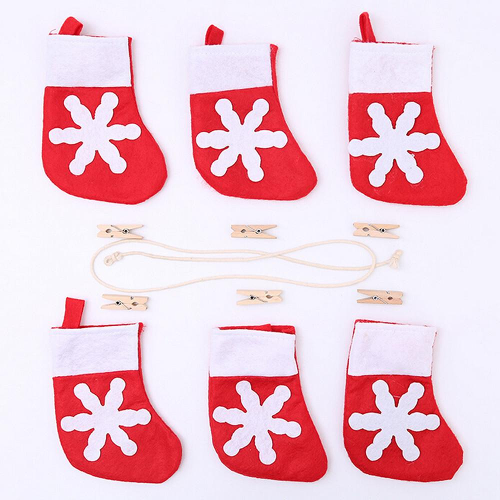 【free shipping】Christmas Decoration Home Bunting Banner Garland Props Flag AITAO