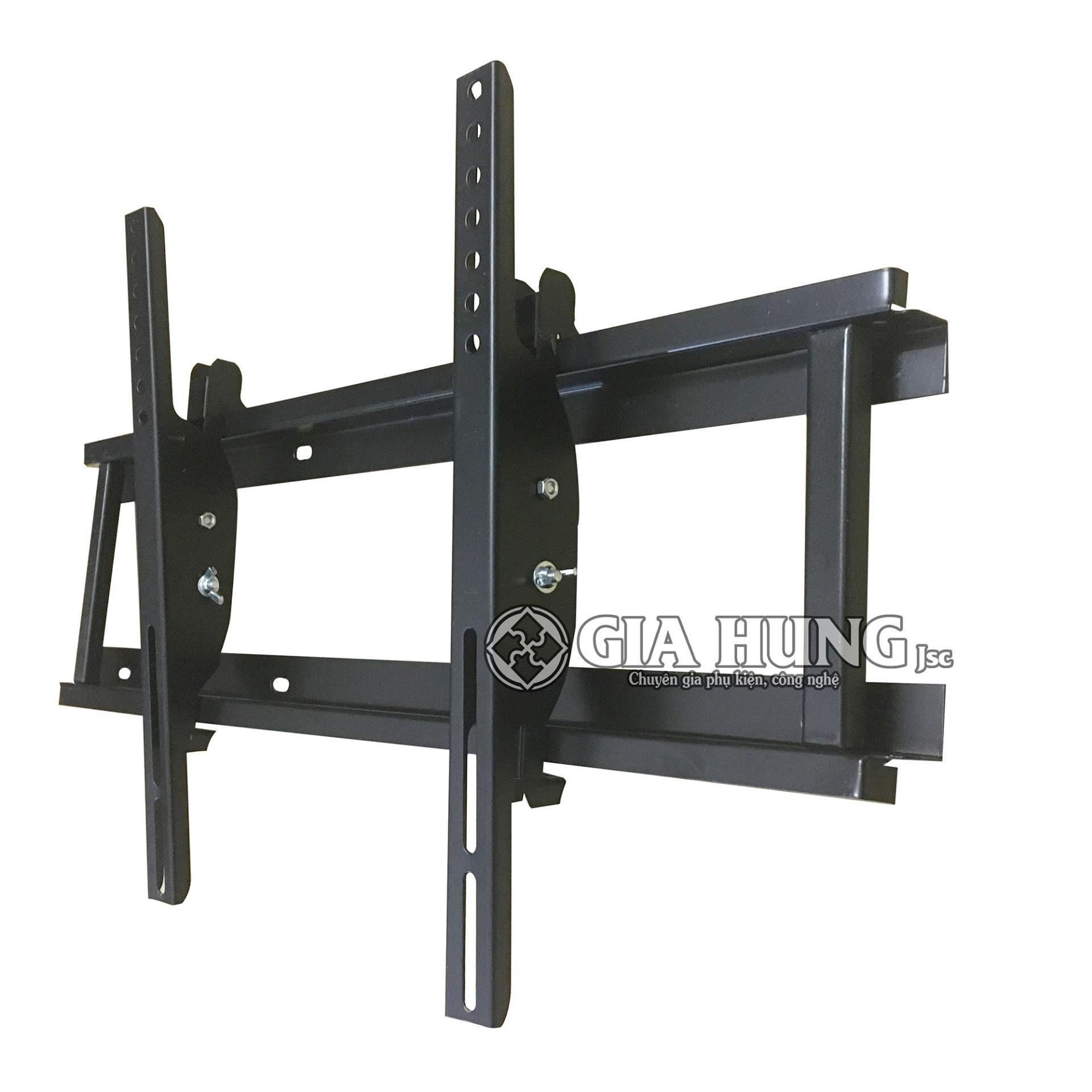 Kệ tivi treo tường ôm sát tường và nghiêng được từ 26' đến 40' tiện dụng