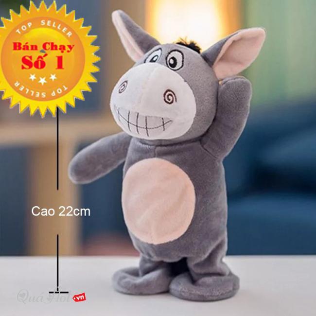 Đồ chơi trẻ em - Thú Bông Biết Nói - Lừa Biết Nói - Lừa Donkey