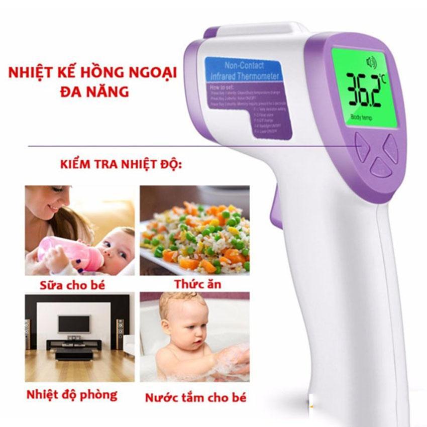 Máy đo nhiệt độ trẻ em omron, Cach do nhiet...