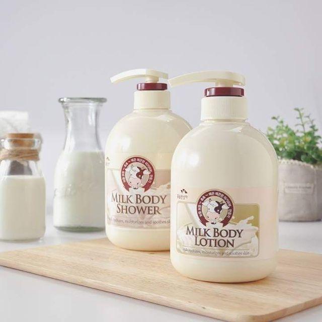 Kết quả hình ảnh cho sữa dưỡng thế Milk Care Hydra Body Milk Soft Body Lotion