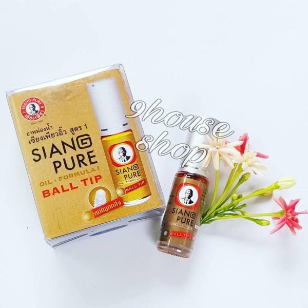 (Gold - Màu Vàng) Dầu nóng Siang Pure Oil 3cc (nội địa Thái Lan) giá rẻ