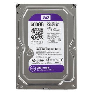 [HCM]HDD 500Gb WD PURPLE Sata Chuyên Camera BH 24TH thumbnail