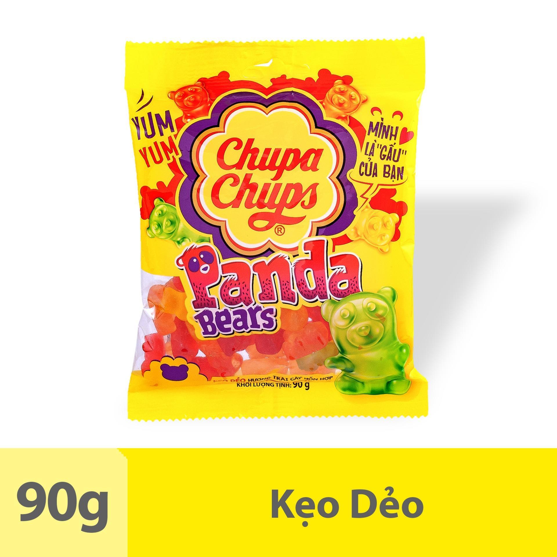 Kẹo Dẻo Chupa Chups Gấu Panda (Gói 90g)