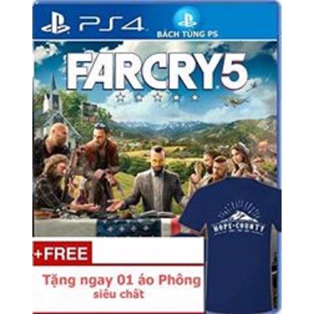 Đĩa Game Ps4 :farcry 5