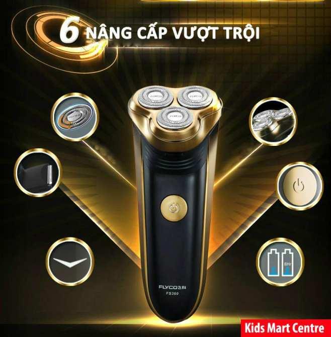 Máy cạo râu cao cấp Flyco FS-360VN