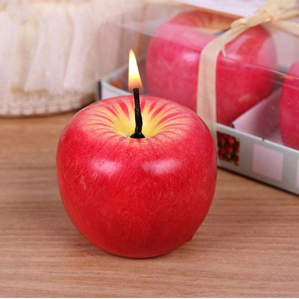 Nến thơm hình quả táo