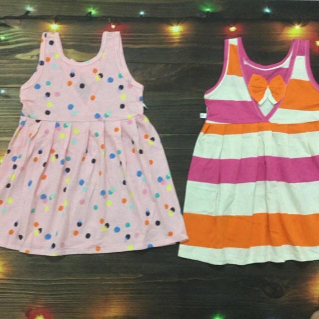 Váy cotton bé gái 10-25kg (ship ngẫu nhiên màu)