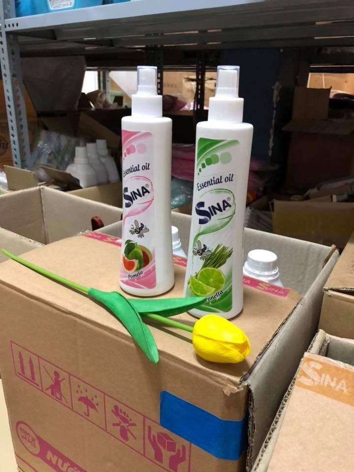 tinh dầu xịt phòng chống muỗi SINA