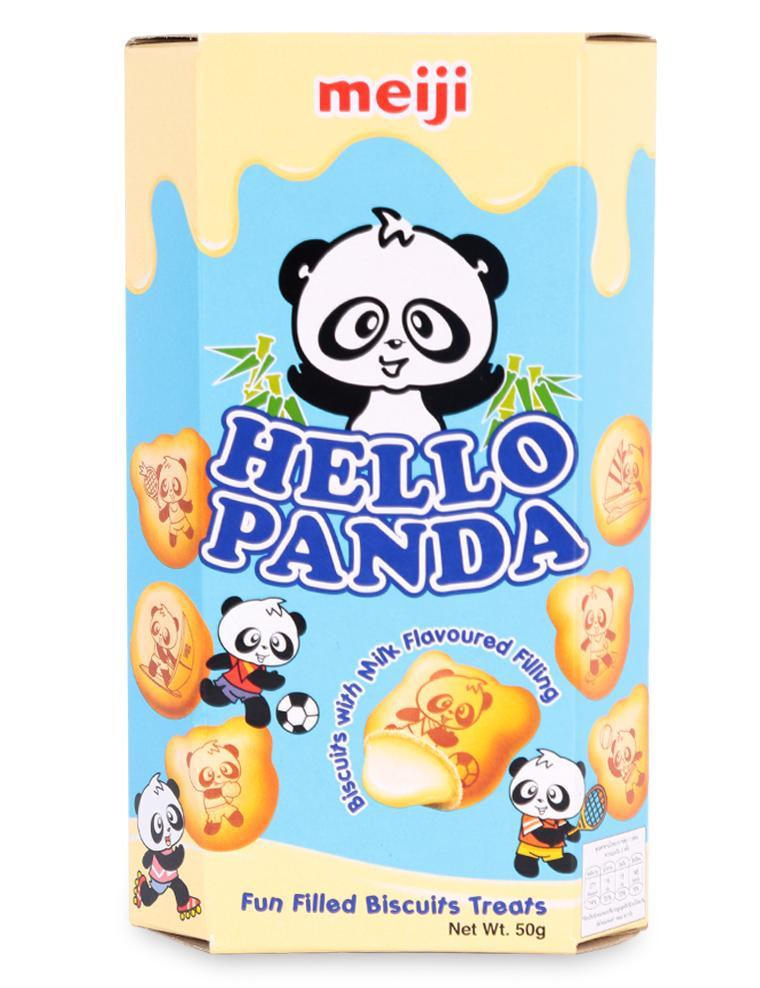 Bánh Hello Panda Vị Sữa Meiji Hộp 50G