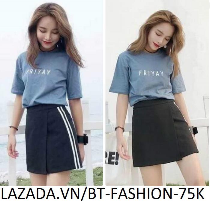 Quần Sọt Đùi Nữ Giả Váy Thời Trang Hàn Quốc Mới - BT Fashion (SO01-2S)