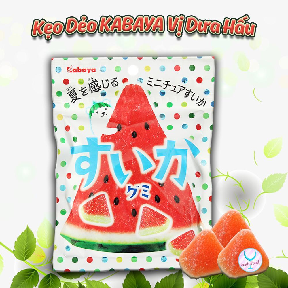 Kẹo Dẻo KABAYA Vị Dưa Hấu Nhật Bản
