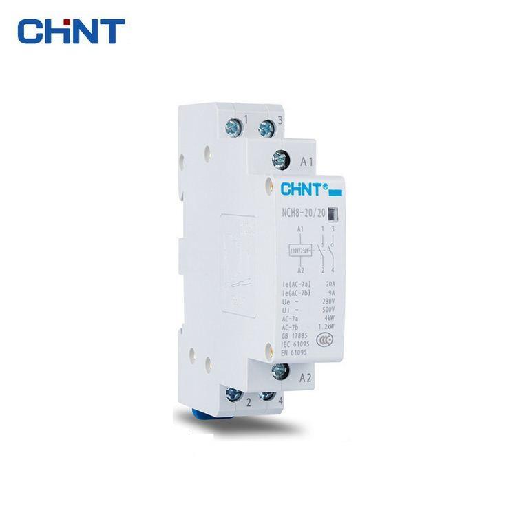 Khởi động từ 1 pha CHINT NCH8 25A ( xám trắng )