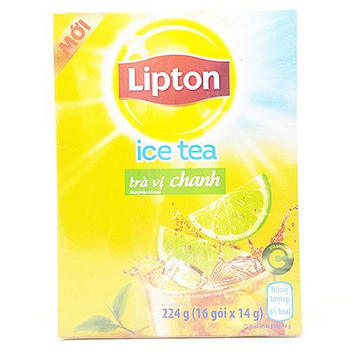 Trà chanh Lipton Ice Tea hộp 16 gói