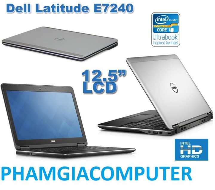 Laptop Dell E7240 Core i7 4600U Ram 4G SSD 128G 12.5inch 1.3Kg mỏng nhẹ- Hàng Nhập khẩu -Tặng Balo, chuột không dây