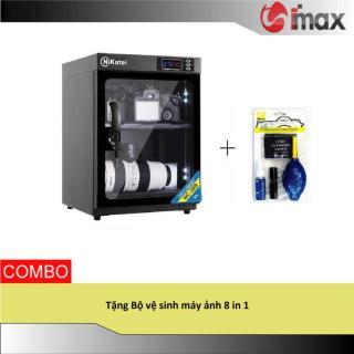 Tủ chống ẩm Nikatei NC-30S BLACK (30 lít) + Bộ vệ sinh máy ảnh 8 in 1 thumbnail