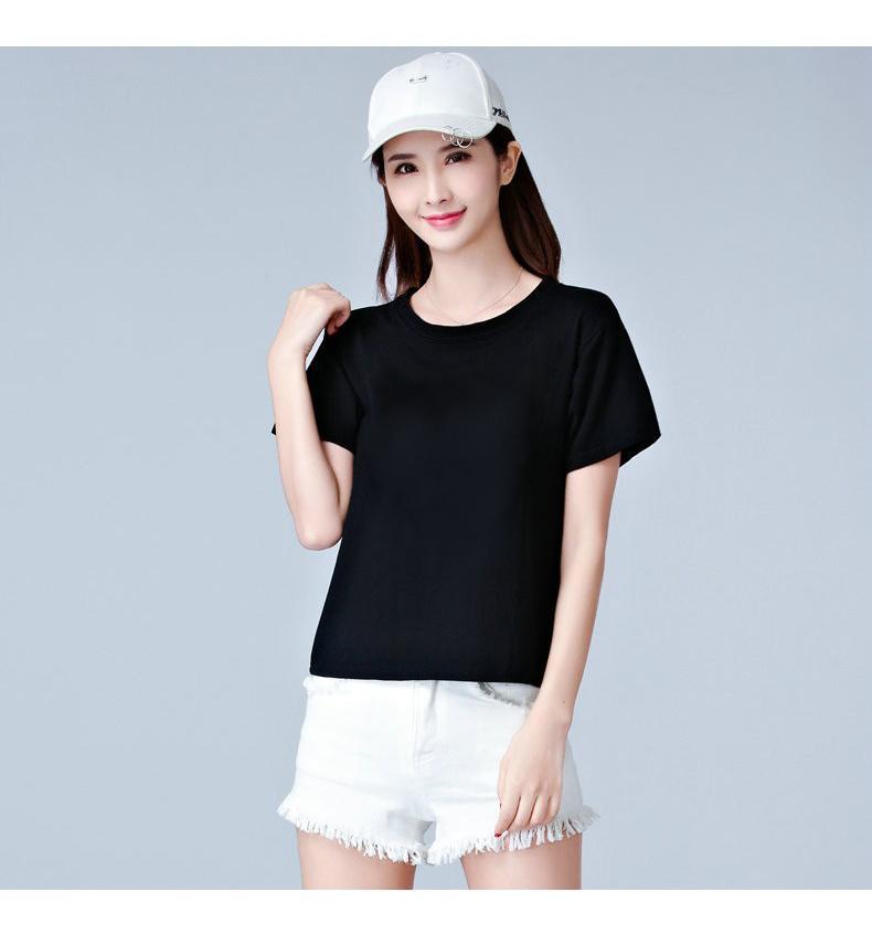 Áo thun phông nữ trơn vải dày mềm mịn thoáng mát Form Rộng Hàn Quốc AoThun102