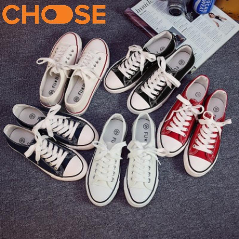 [Có Video] Giày Thể Thao Nữ Chất Liệu Vải Mềm, Màu Sắc Cơ Bản, Phong Cách Cực Cool Hàn Quốc 0201 (Nhiều Màu)