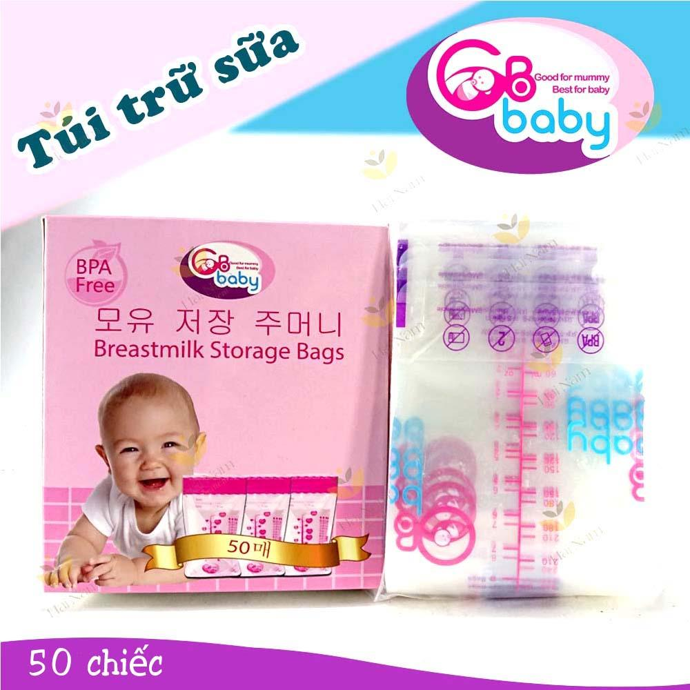 Hộp 50 Túi Trữ Sữa Gb Baby