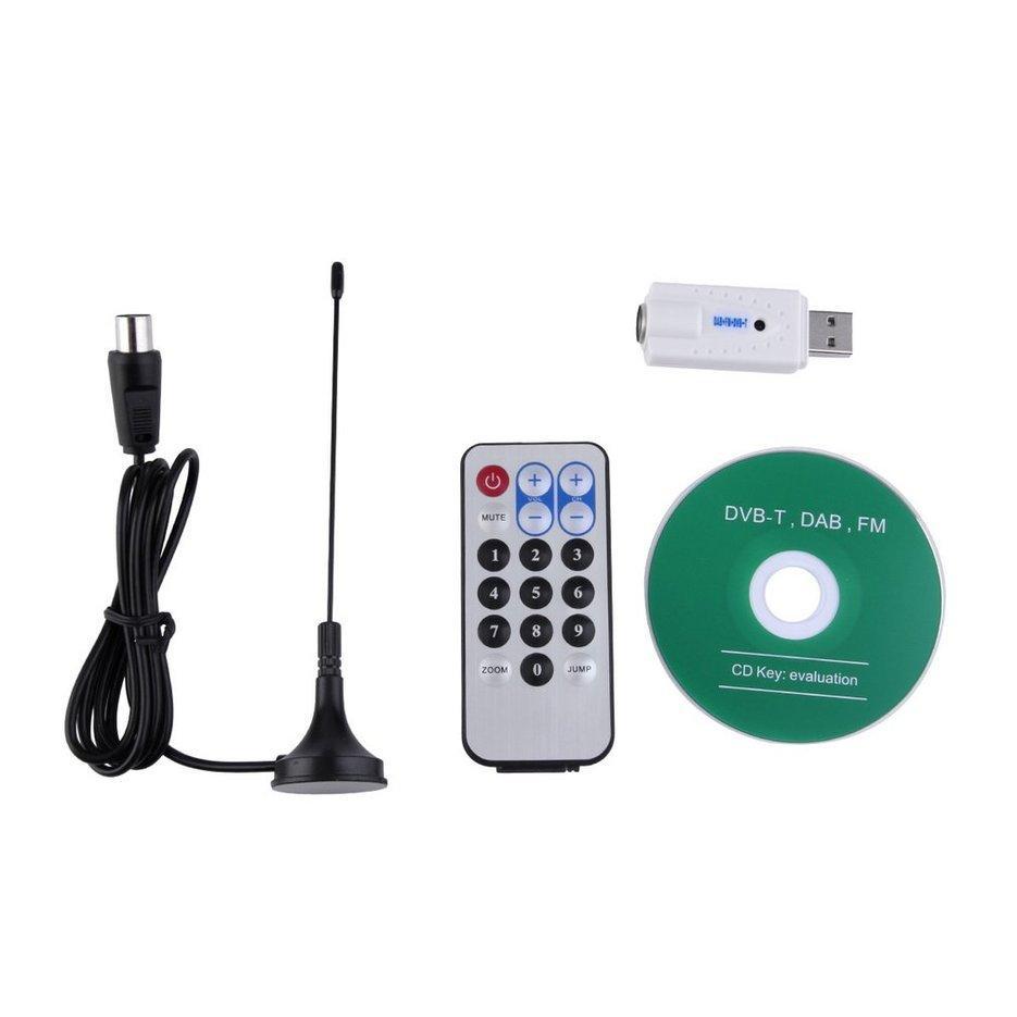 Nóng Di Động Bán Chạy USB DVB-T RTL-SDR Realtek RTL2832U Và R820T Bắt Sóng Thu Phát PAL IEC Đầu Vào