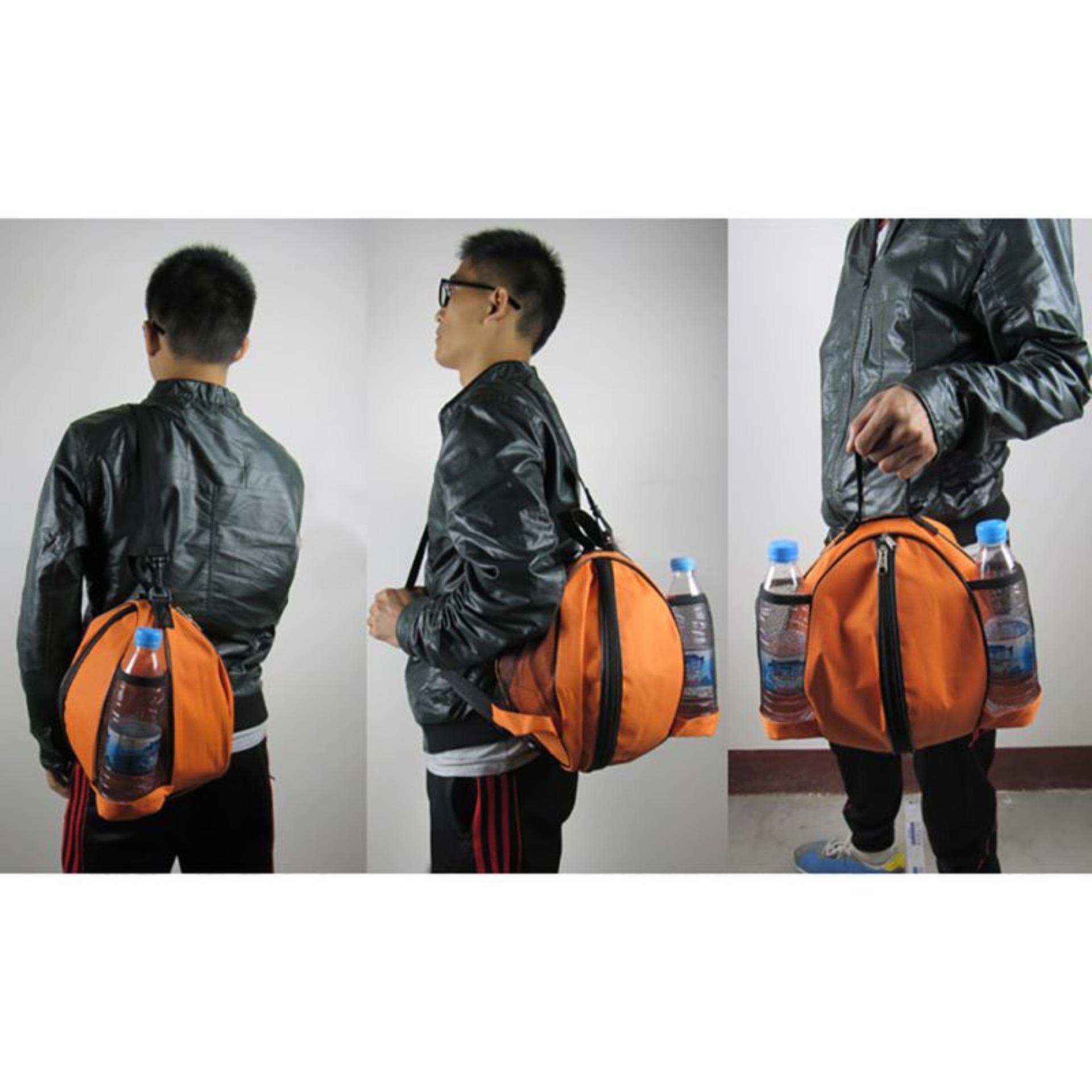Túi đựng bóng rổ, có ngăn đựng bình nước, ngăn nhỏ đựng phụ kiện chất liệu cao cấp POPO Sports - 4