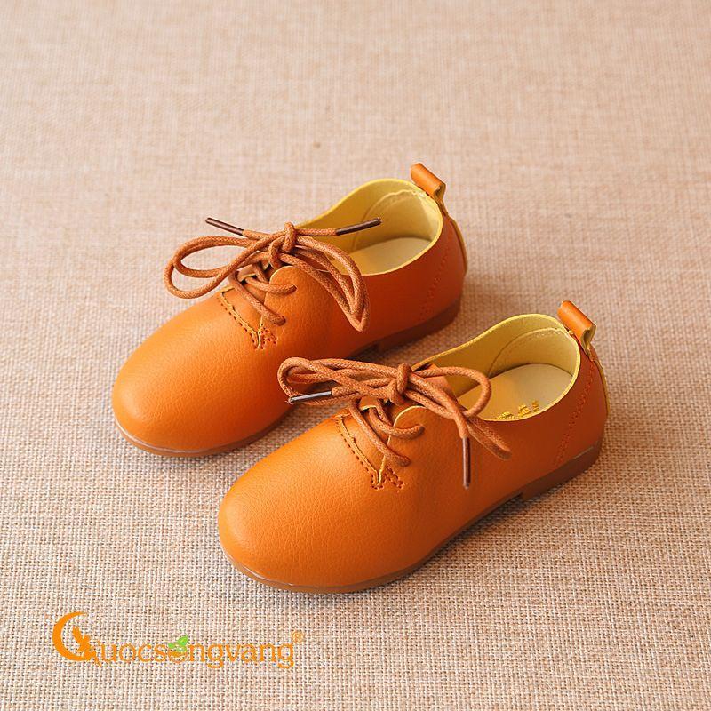 Giày dép trẻ em giày trẻ em kiểu giày tây đế kếp chống trượt GLG037