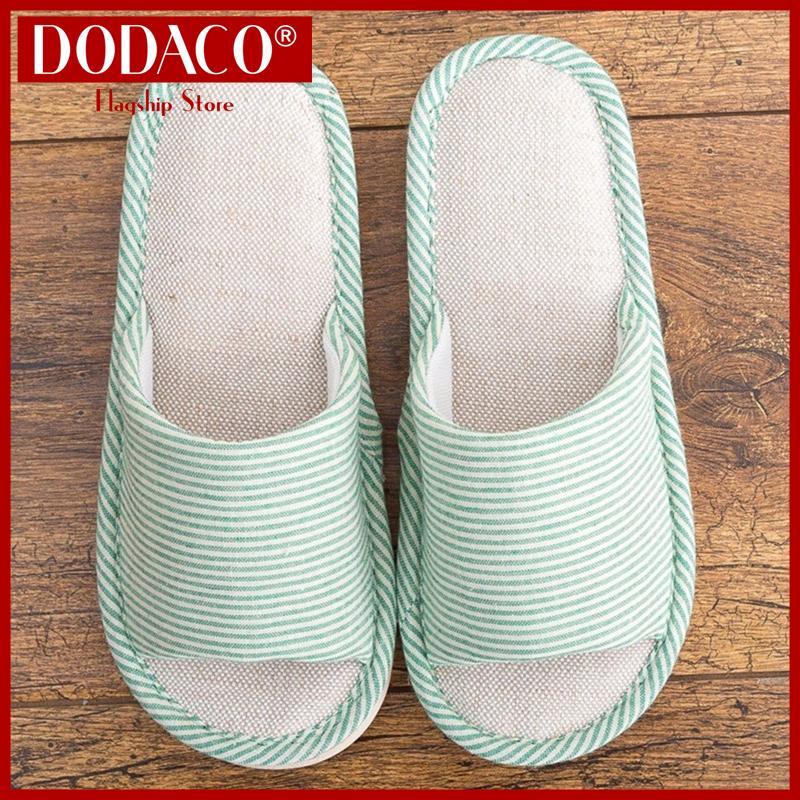 Dép đi trong nhà nam nữ DODACO DDC2021 Dép lê đẹp giá rẻ mẫu mới hot trends 2019 màu nhiều màu dep di trong nha nu dep le dep gia re mau moi mau nhieu mau