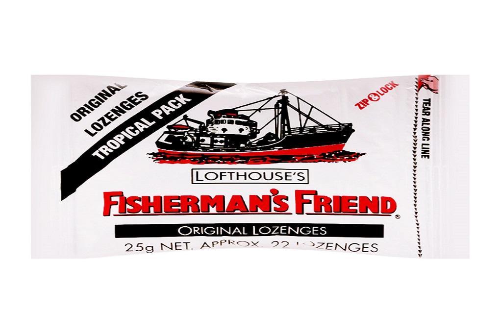 Kẹo Cay Con Tàu Fisherman Friend Vị Khuynh Diệp Gói 25g x 22 viên