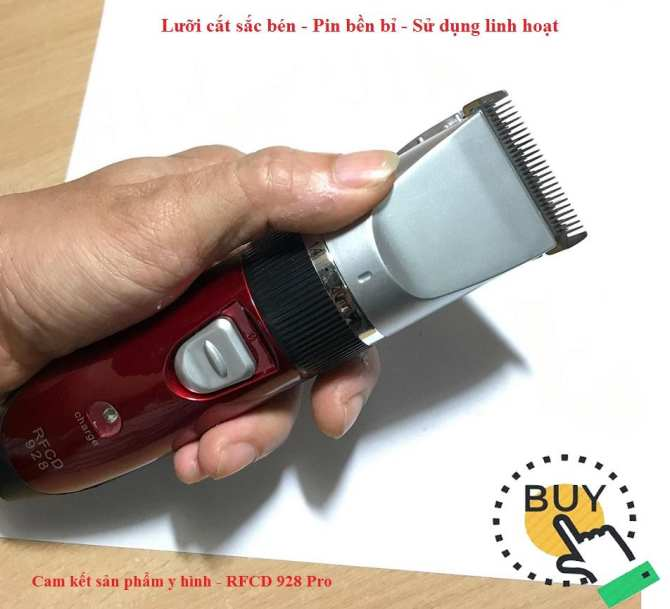 Máy tông đơ cắt tóc cho bé, Tông đơ g5, Máy tông đơ đa năng RFCD-928 tiện dụng, cho bạn thoải mái sáng tạo với mái tóc BẢO HÀNH UY TÍN