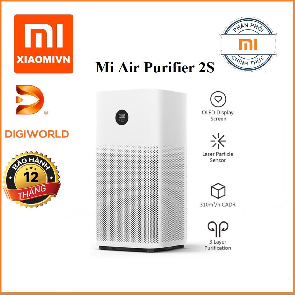 Máy lọc không khí Xiaomi Mi Air Purifier 2s Bản Quốc tế - DigiWorld phân phối