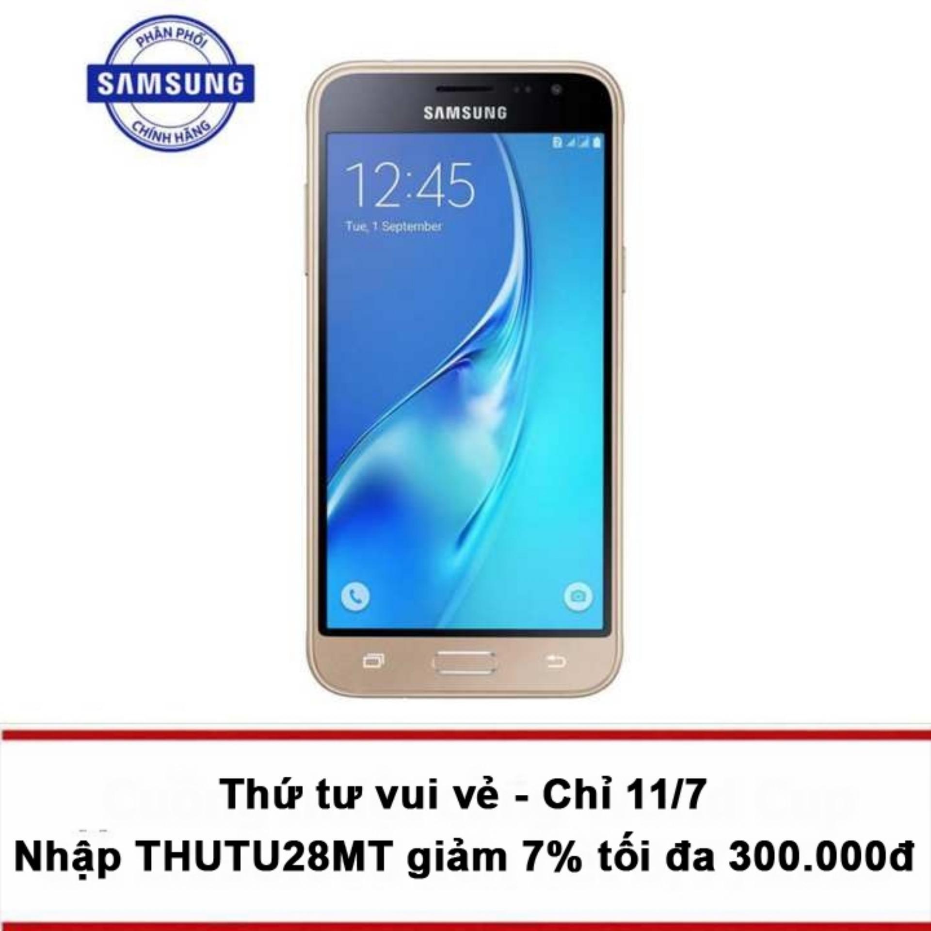 Samsung Galaxy J3 LTE/4G (Vàng) - Hãng phân phối chính...