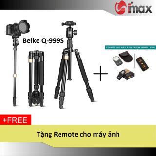 Chân máy ảnh Tripod Monopod Q-999S + Remote cho máy ảnh thumbnail