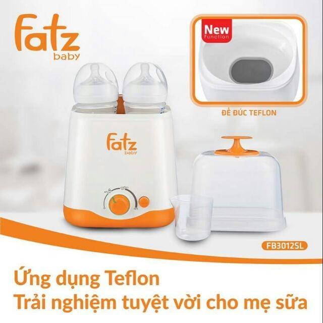 Máy hâm sữa hai bình cổ rộng thế hệ mới...
