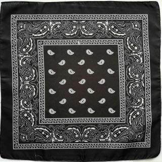 Khăn hiphop bandana (Turban) - Màu đen thumbnail