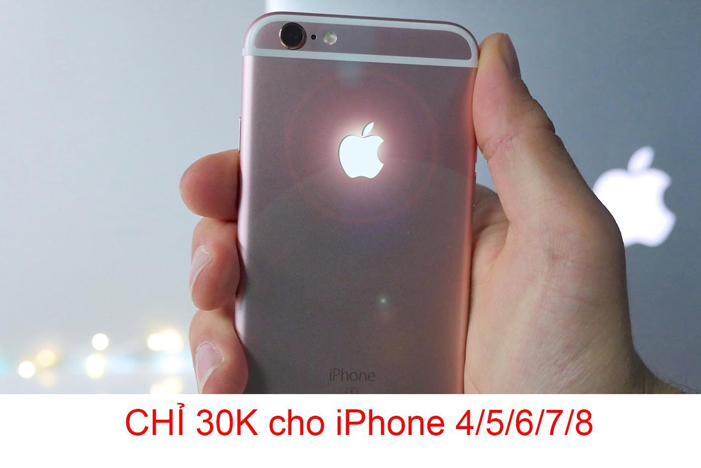 Logo Táo Phát Sáng iPhone 4/5/6/7/8