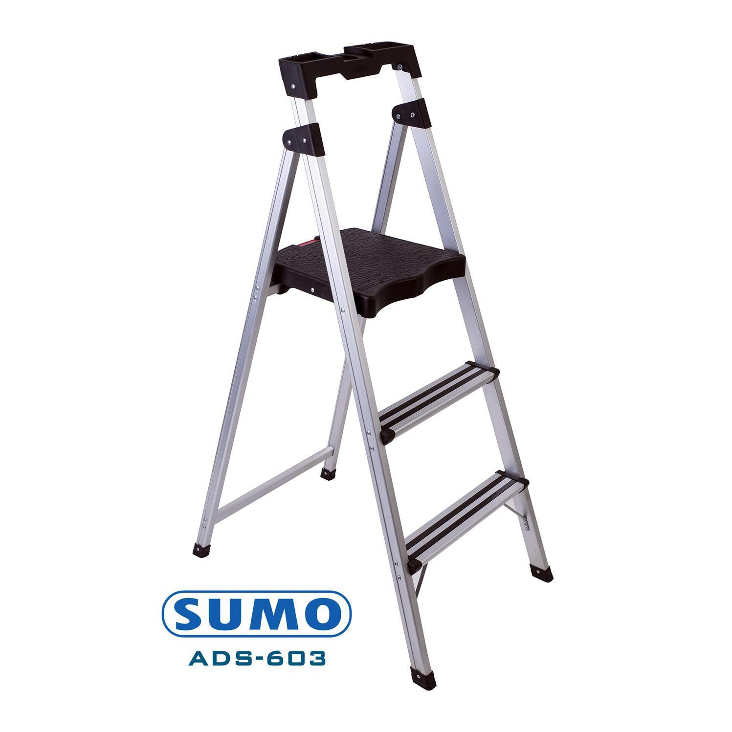Thang nhôm ghế 3 bậc xếp gọn SUMO ADS-603