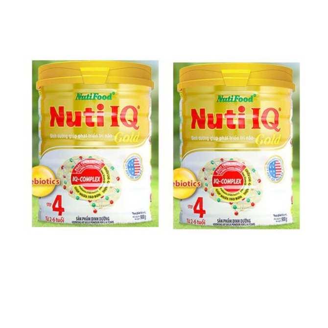 Hình ảnh SỮA Nuti IQ Gold Step 4 900G (TỪ 2-6 TUỔI)
