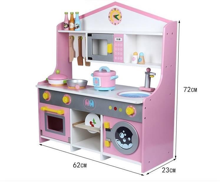 Bộ bếp gỗ hình ngôi nhà như mơ cho bé Cao 72 cm xinh xắn đáng yêu GIÁ CỰC ƯU ĐÃI-BAO HÀNH 1 ĐỔI 1