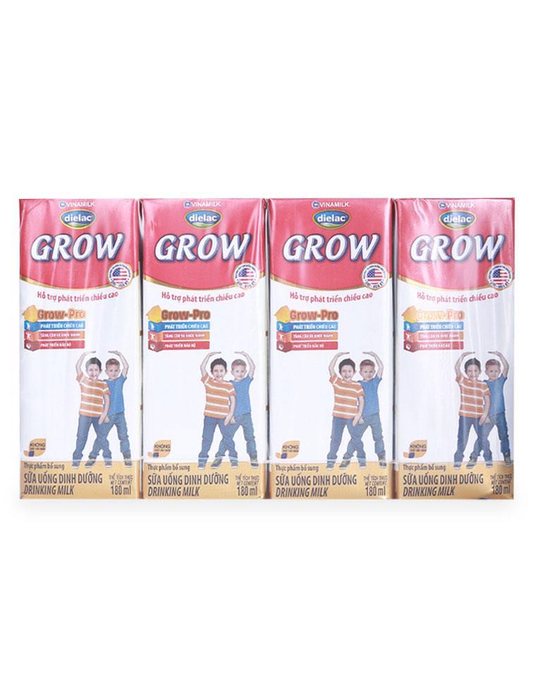 Sữa Dinh Dưỡng Dielac Grow Lốc 4 Hộp X 180ML