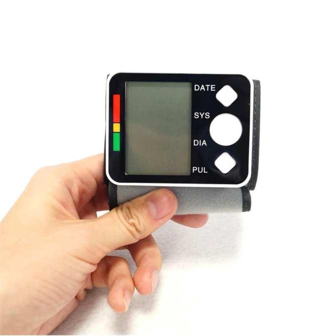 Máy Đo Huyết Áp Điện Tử Bắp Tay ; Máy đo huyết áp cổ tay BP-628 => Bán hàng uy tín bởi Seller center 45