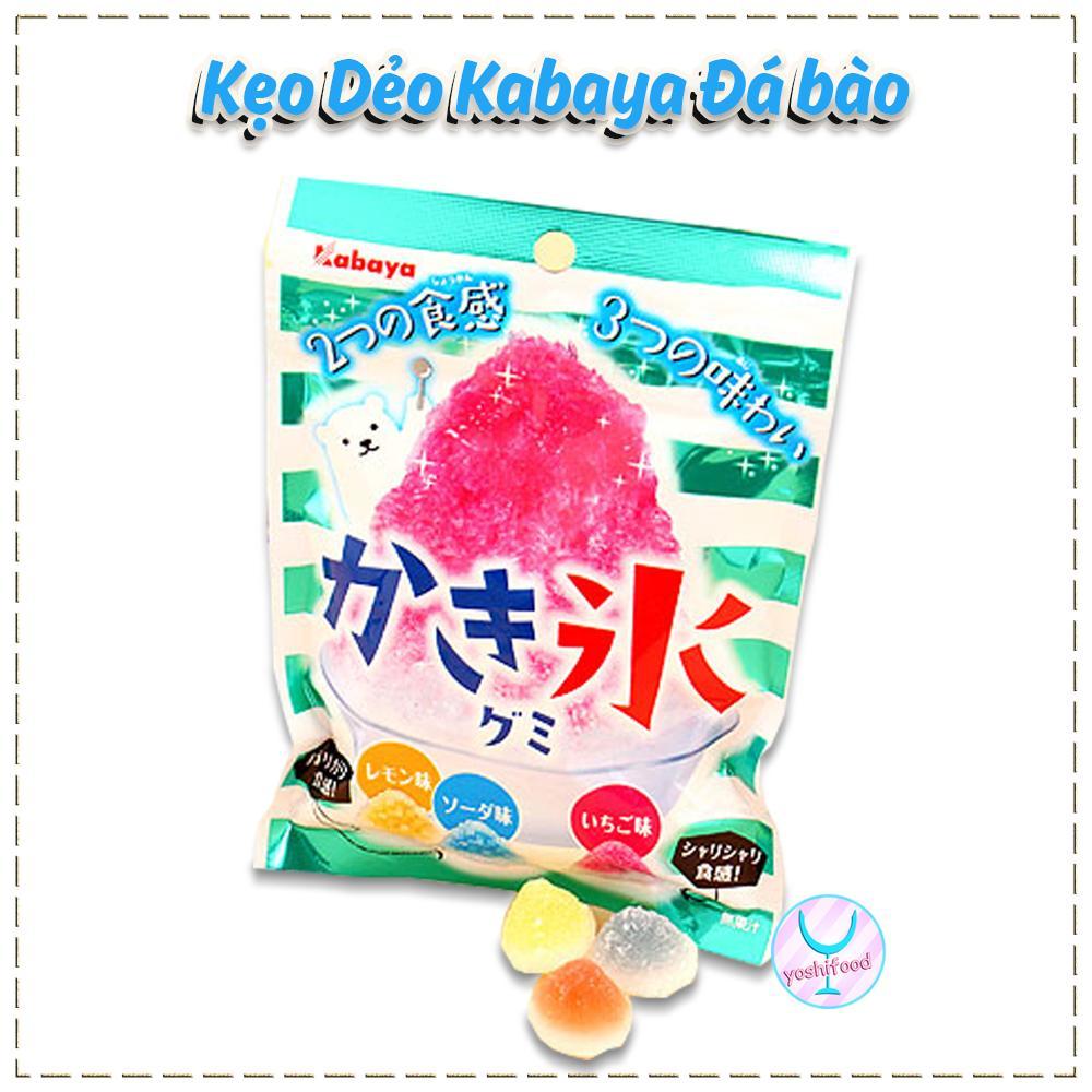 Kẹo dẻo Kabaya Đá Bào Nhật Bản