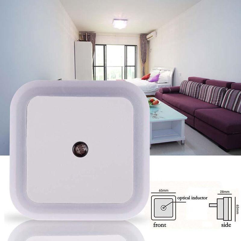 Đèn LED hình vuông cảm ứng ban đêm với nhiều màu sắc sáng chói  Đèn LED tiết kiệm năng lượng mang đến sự lãng mạn, ấm áp cho  phòng ngủ, lối đi hành lang trong nhà