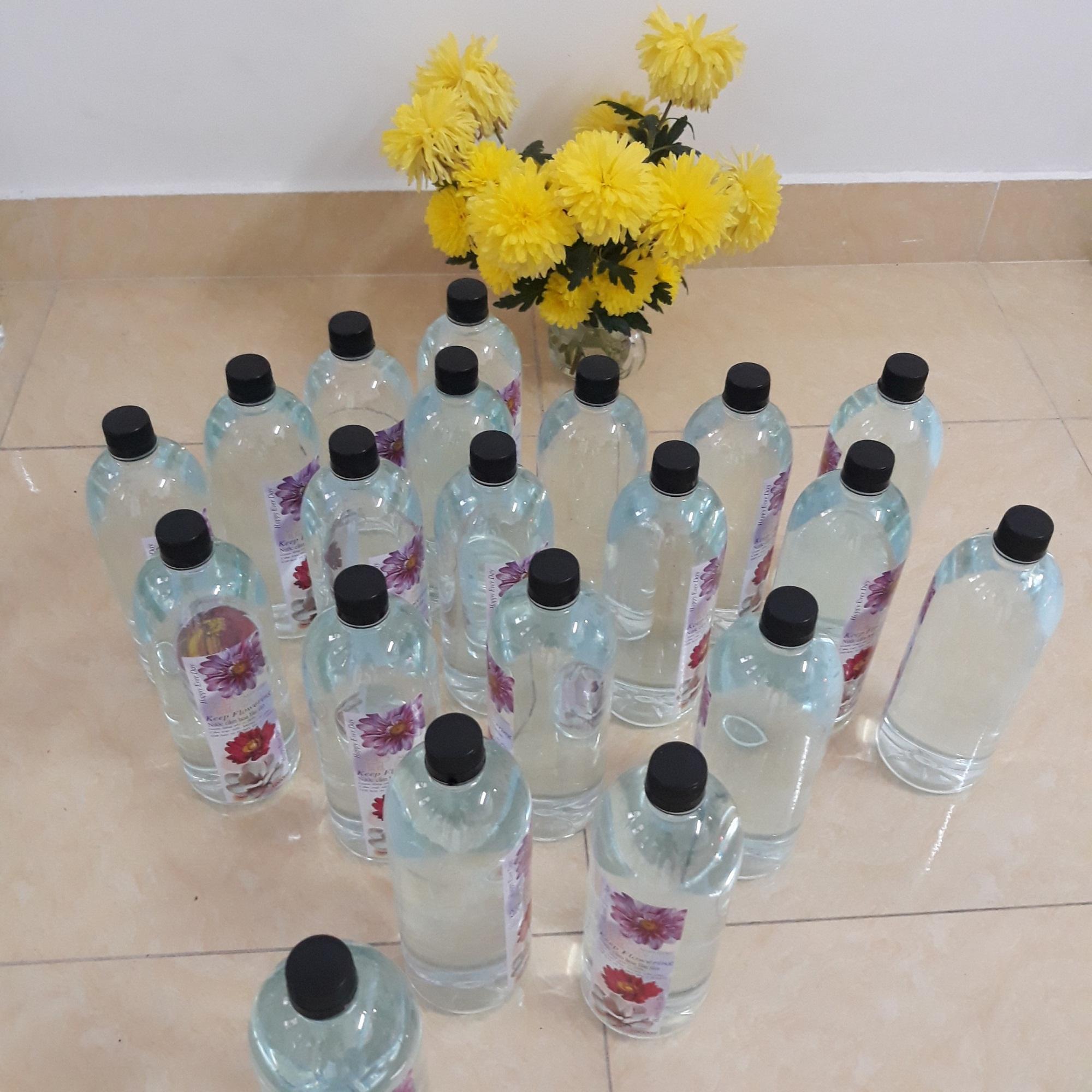 Dung dịch cắm hoa 1000ml- giữ hoa lâu tàn