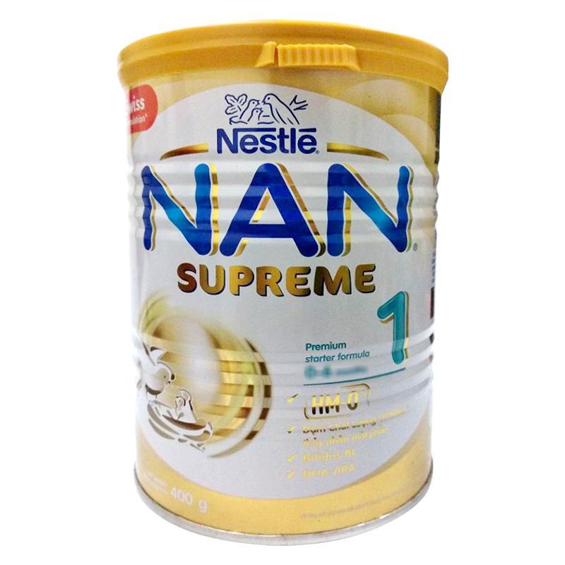 Combo 2 lon sữa Nan HA (mẫu mới) 400g