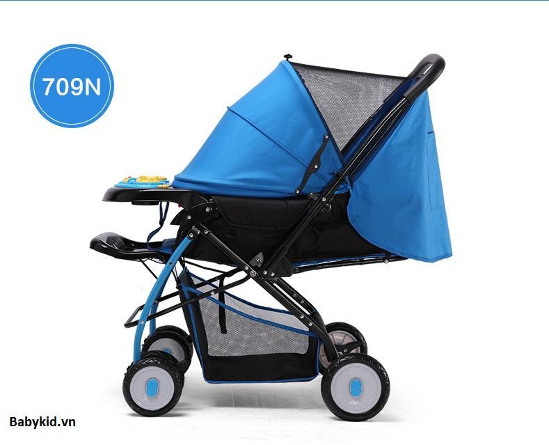 Xe đẩy trẻ em 2 chiều 3 tư thế Baobaohao...